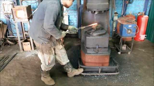 Горячая ковка: оборудование для горячей ковки своими руками