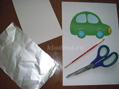 Фольга для чеканки рисунка своими руками